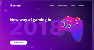Gaming Landing Page Templates