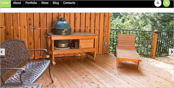 Garden Furniture Woocommerce Template