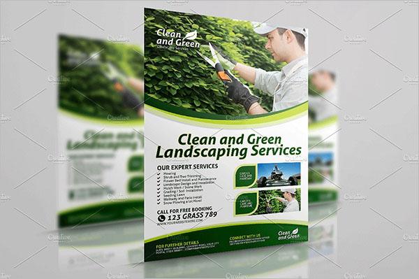Garden Services Flyer Design Template