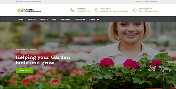 Gardening Services WordPress Theme