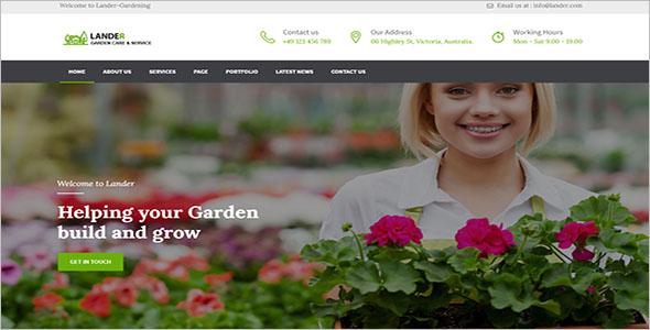 Gardening Services WordPress Theme