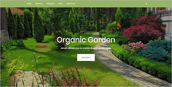 Gardening HTML Blog Template