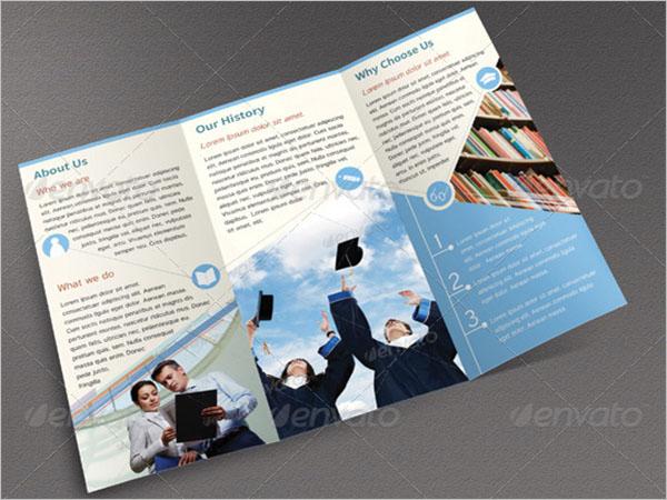 Graduation Brochure Design Idea