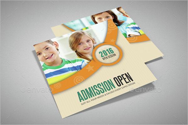 Graduation Program Brochure Template