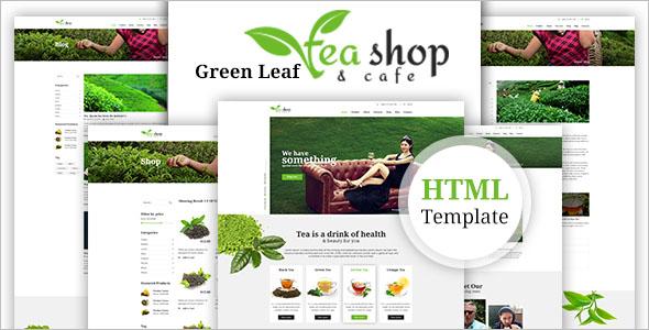 Green Tea Magento Template