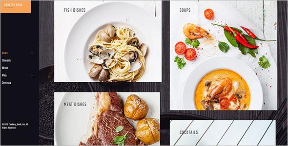 Grid Bog WordPress For Food