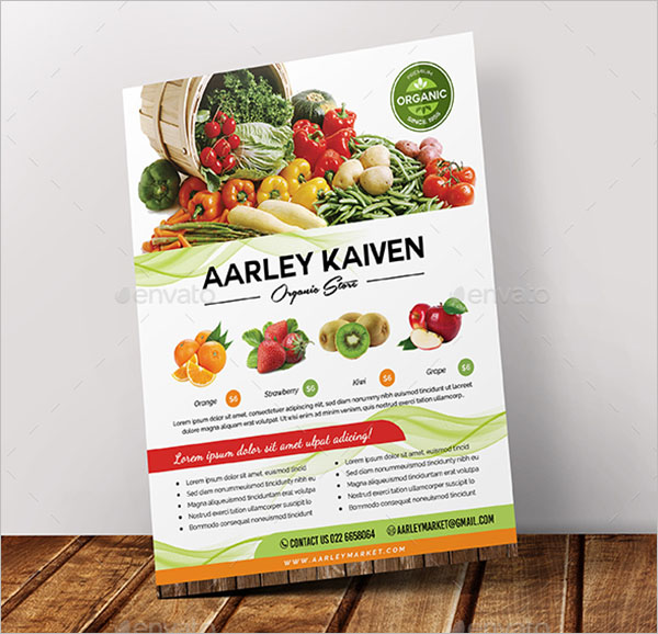 Grocery Flyer PSD Template