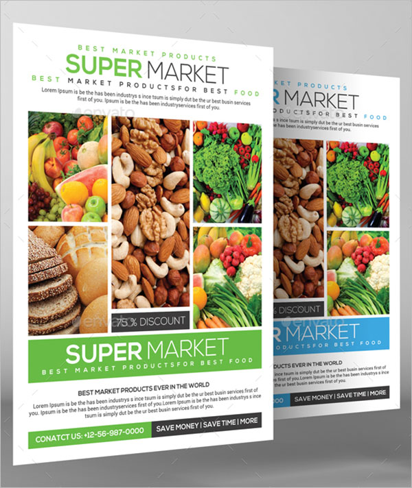Grocery Store Flyer Design