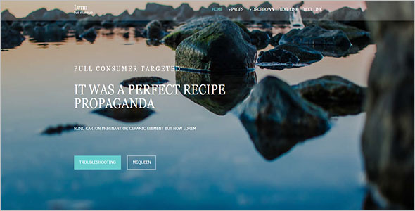 HTML Blog Website Template Free Download