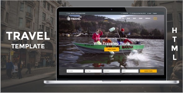 HTML Tour & Travel Template