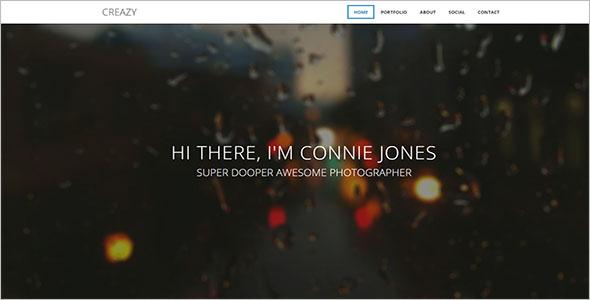HTML5 Blog Website Template