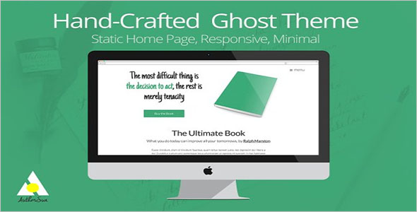 HTML5 Template For Writer