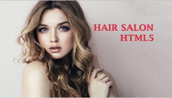 Hair Salon HTML5 Templates