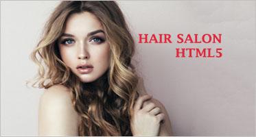 Hair Salon HTML5 Templates