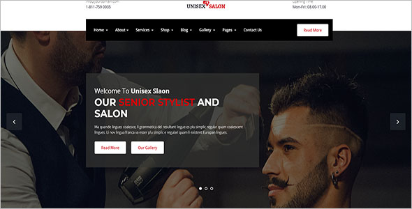 Hair Spa HTML5 Template