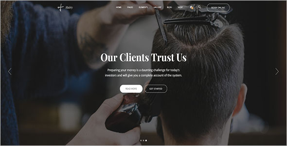 Hair Stylist HTML Template