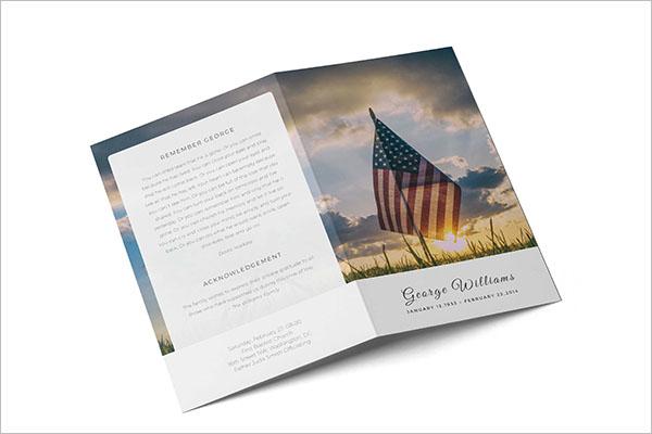 Half Fold Brochure Design