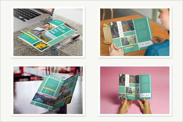 Half Fold Brochure Template Bundle