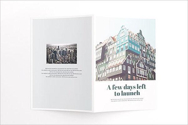 Half Fold Flyer Brochure Template