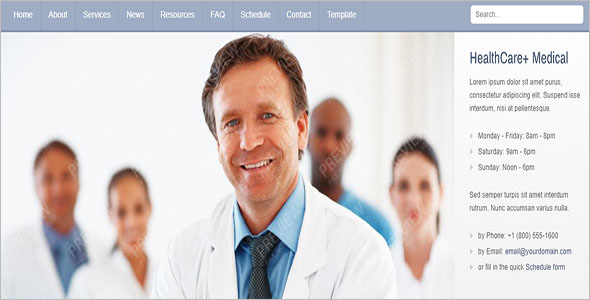 Health Care Joomla Theme