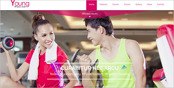Health Fitness Joomla Theme