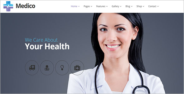 Health Joomla Theme