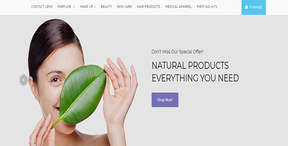 Health Product Open Cart Template