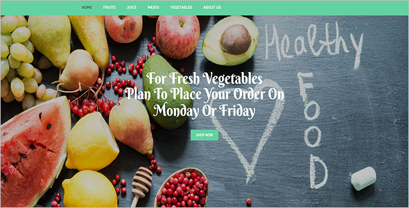 Healthy Product Store Open Cart Theme