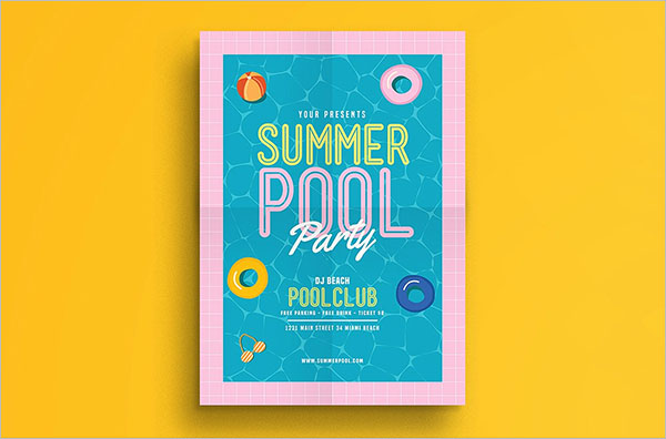 High Quality Summer Party Flyer Template