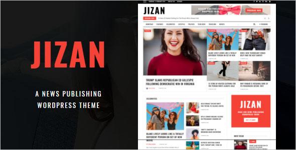 Highend Newspaper WordPress Theme