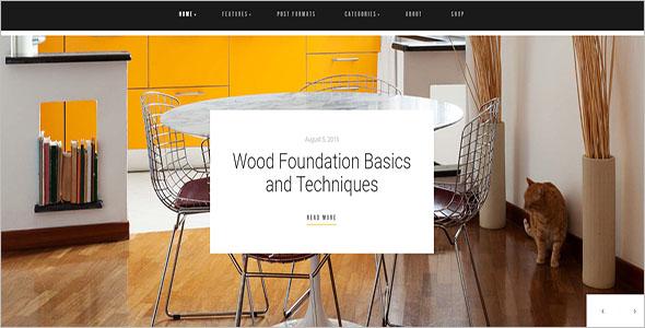 Home Decor WooCommerce Blog Theme