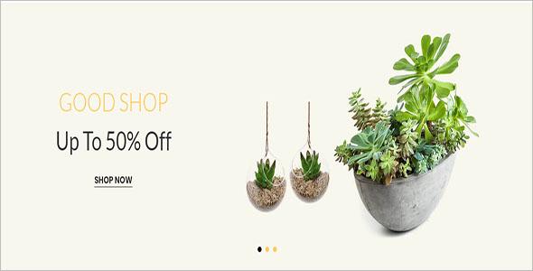 Home & Garden Decor WooCommerce Template