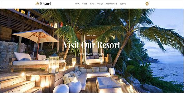 Hotel & Resort Joomla Template