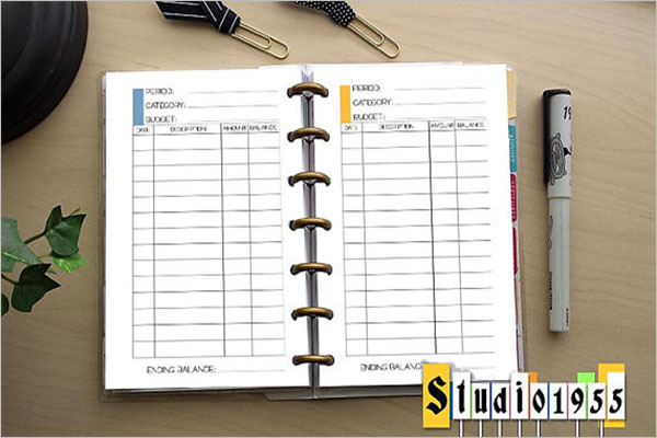 Household Expenditure Budget Template