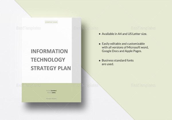 IT Communication Strategy Template