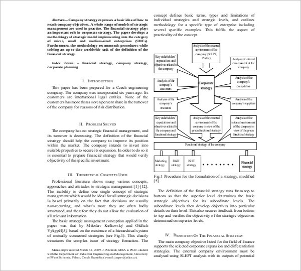 IT Strategy Document Template