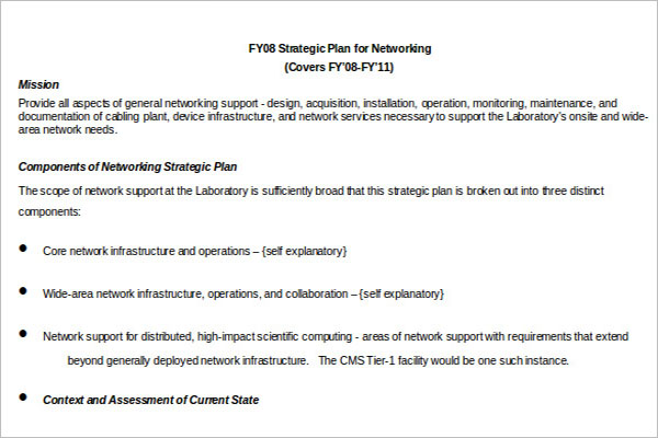 IT Strategy Template PDF