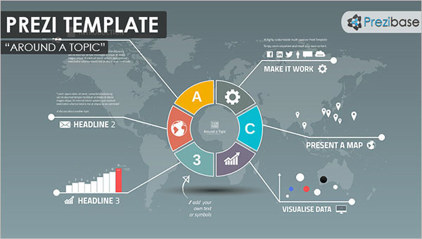 Infographic Presentation Prezi Template