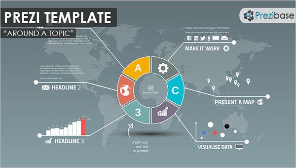 Infographic Presentation Prezi Template