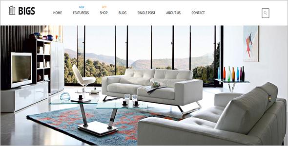 Interior Design Responsive Woocommerce Template
