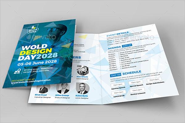 International Conference Brochure Template