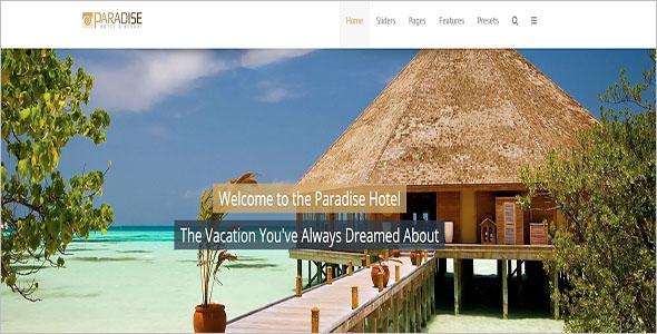 Joomla Hotel Template