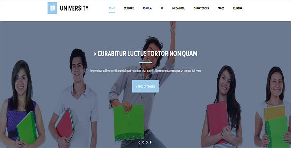 Joomla Learning Management System Template