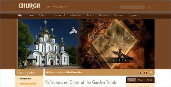 Joomla Religious Theme