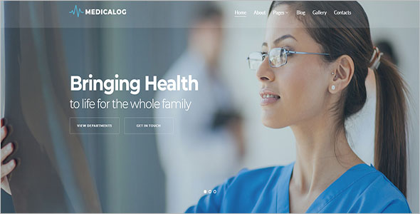 Joomla Template For Health Care