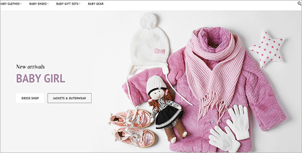 Kids Clothing Magento Theme