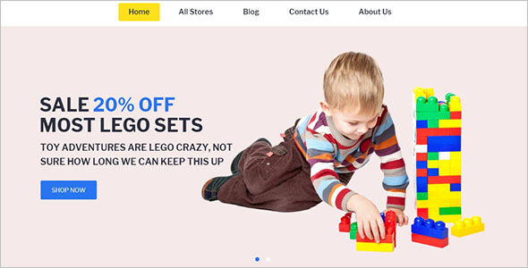 Kids Store Magento Template