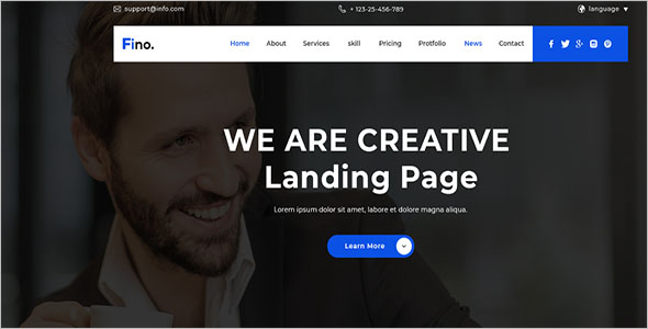 Landing Page For Insurance Agent
