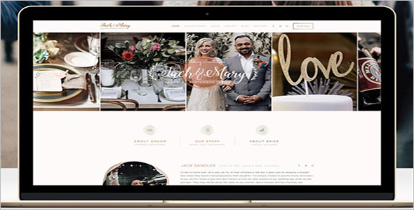 Landing Page Template For Wedding Planning