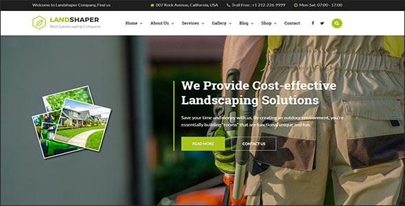 Landscaper WordPress Theme